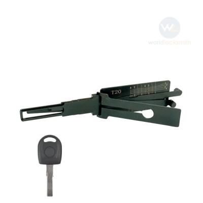 Genuine Lishi T-Code T20 HU66(GEN3) 3in1