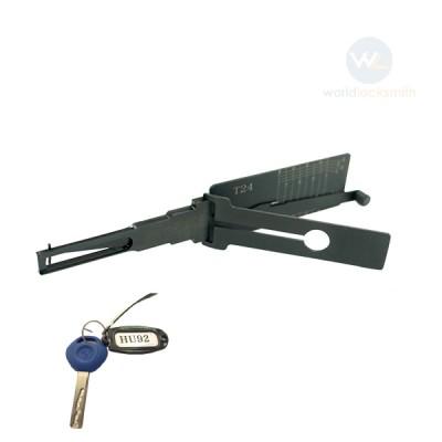 Genuine Lishi T-Code T24 HU92-10mm V.2 3in1
