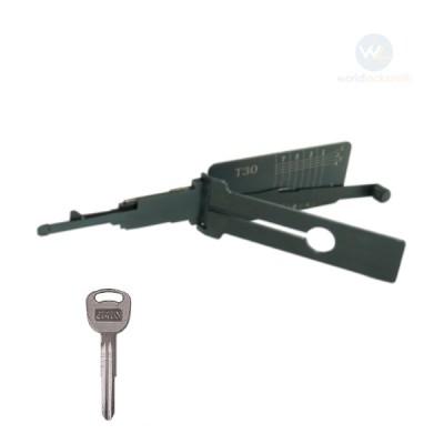 Genuine Lishi T-Code T30 KIA3R 3in1