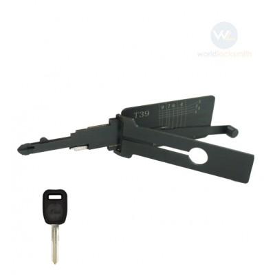 Genuine Lishi T-Code T39 NE38 3in1
