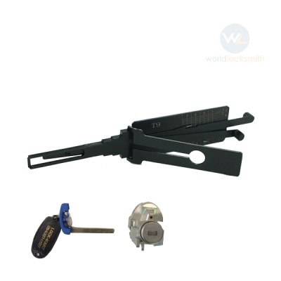 Genuine Lishi T-Code T9 HU100R V.2 3in1